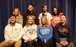 Wyoming Seminary graduates return to campus for College Panel
