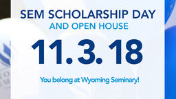 Wyoming Seminary schedules Scholarship Exam and Open House for November