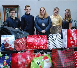 Wyoming Seminary Lower School students donate gifts to Children and Youth