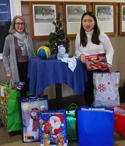 Wyoming Seminary supports Angel Tree Project