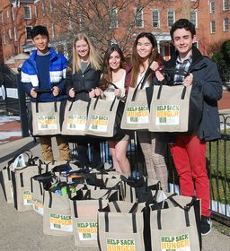 Wyoming Seminary community contributes food, money in Sack Hunger campaign