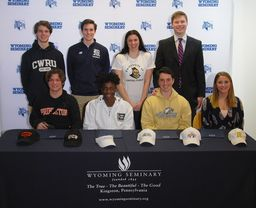 Wyoming Seminary athletes announce on National Signing Day