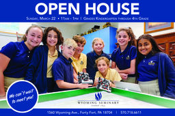 Lower School to hold Spring Primary Program Open House